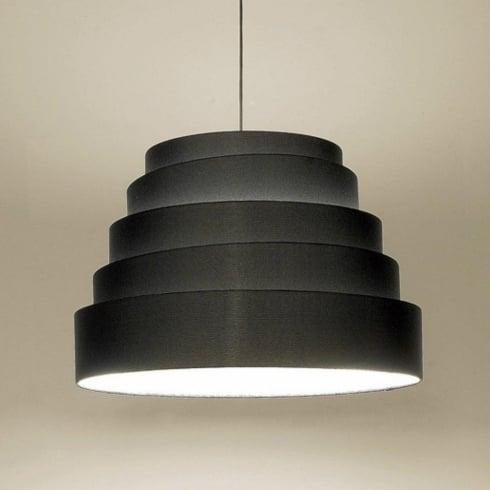 Karboxx Babel 10SPBK02 Black Pendant Ceiling Light