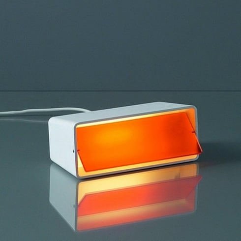 Karboxx Light Boxx 06WHOR01 Orange Table Lamp