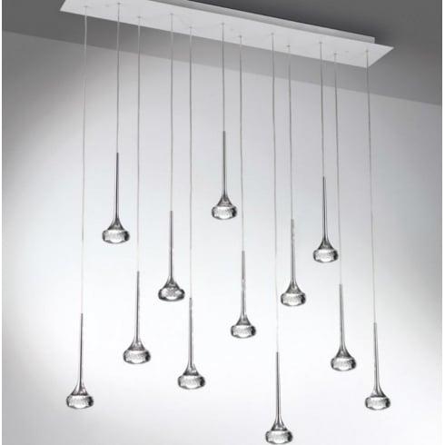Axo Fairy SPFAI12RCSCRLED Crystal Pendant Ceiling Light