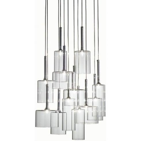 Axo Spillray SPSPIL12CSCR12V Crystal Pendant Ceiling Light