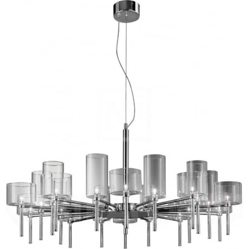 Axo Spillray SPSPIL20CSCR12V Crystal Pendant Ceiling Light