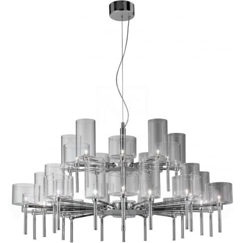 Axo Spillray SPSPIL30CSCR12V Crystal Pendant Ceiling Light