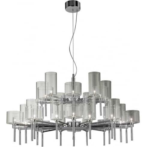 Axo Spillray SPSPIL30GRCR12V Grey Pendant Ceiling Light