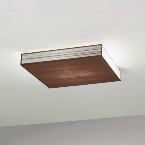 Axo Clavius PLCLAVIUTAXXE27 Brown Semi Flush Ceiling Light