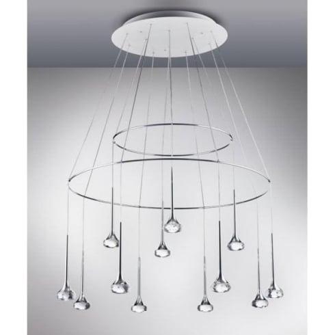 Axo Fairy SPFAIR18CSCRLED Crystal Pendant Ceiling Light