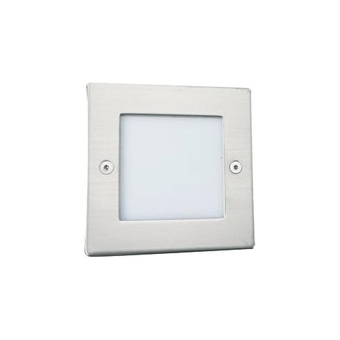Searchlight Electric Searchlight 9907WH LED Recessed  Indoor & Outdoor Wall Light with Diffuser IP54