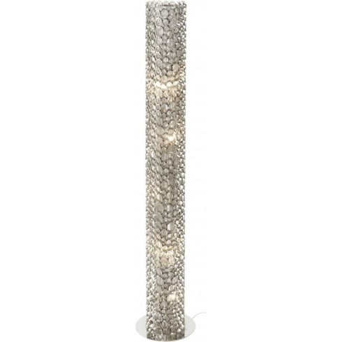 Libra Company Venus Nickel Tube 136979 Floor Standing Lamp