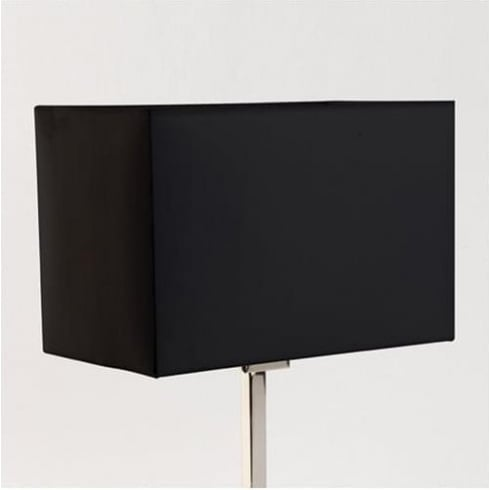 Astro Rectangle 285 Black Fabric Shade