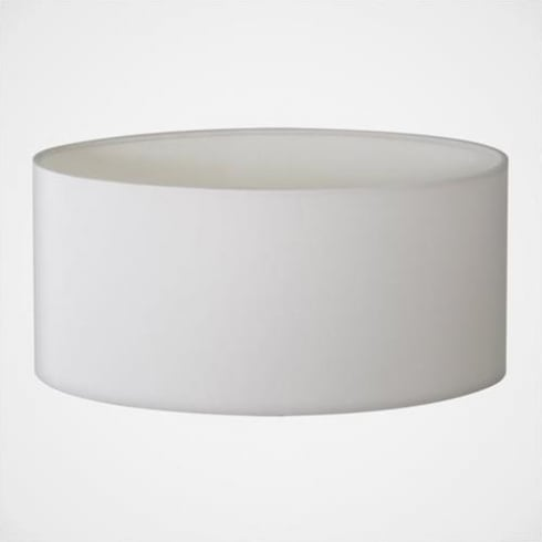Astro Oval 285 White Fabric Shade