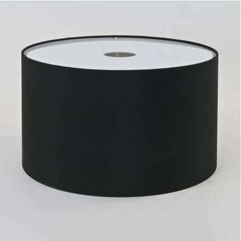 Astro Lighting Drum 420 4091 Black Fabric Drum Lamp Shade
