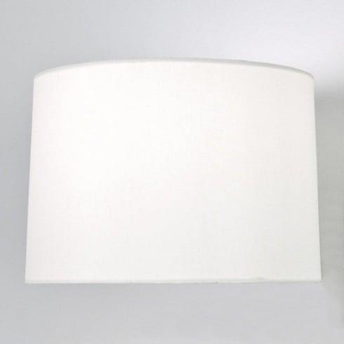 Astro Round Tapered 215 White Fabric Shade