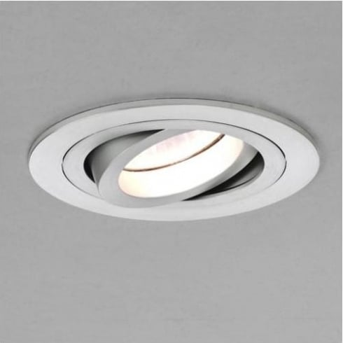 Astro Lighting Taro Adjustable 5637 Brushed Aluminium Round GU10 Recessed Downlight 230V
