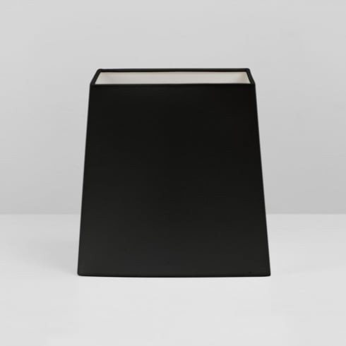 Astro Square Tapered 175 Black Fabric Shade