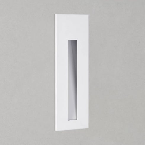Astro Borgo 55 Tall Recessed LED Wall Light White
