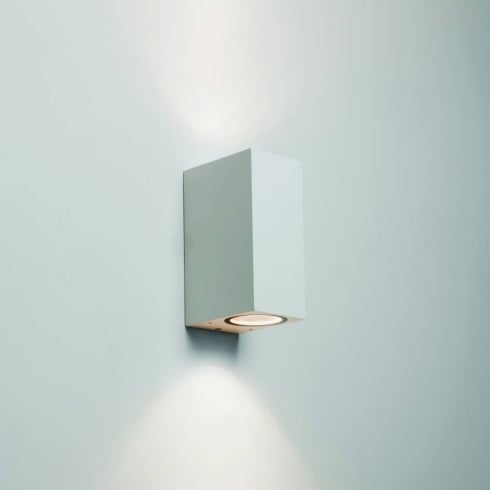 Astro Lighting Chios 150 7565 Exterior Surface Up and Down Wall Light in White