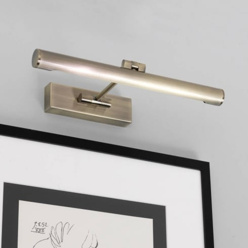 Astro Lighting Goya 365 0534 Antique Brass Picture Wall Light 365mm Wide