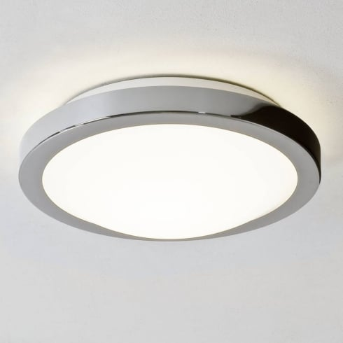 Astro Lighting Mariner 0270 Round Bathroom Ceiling Light in Polished Chrome IP44