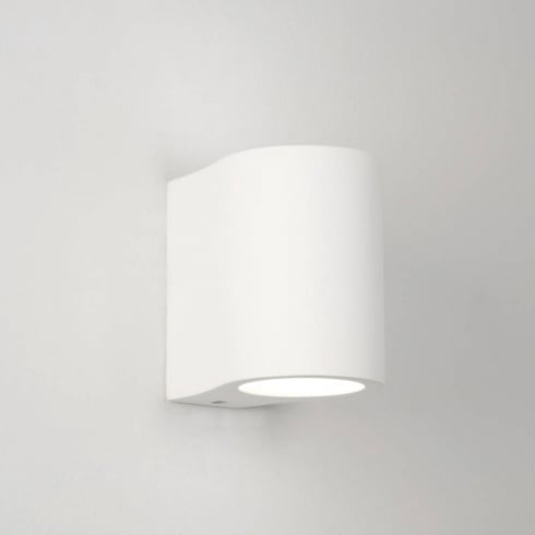 Astro Pero White Plaster up and down Surface Wall Light Paintable