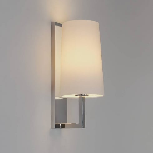 Astro Lighting Riva 350 0988 Polished Chrome Bathroom Surface Wall Light IP44