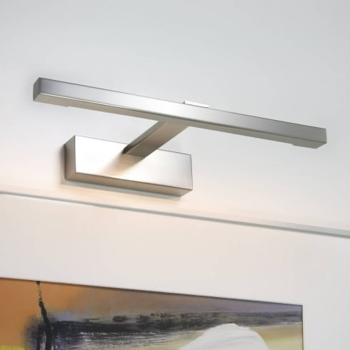 Astro Lighting Teetoo 350 12v 0794 Matt Nickel Linear Square Picture Light 350mm