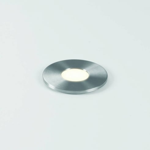 Astro Lighting Terra 28 Round 7199 Stainless Steel Exterior LED Walkover Ground Light IP65