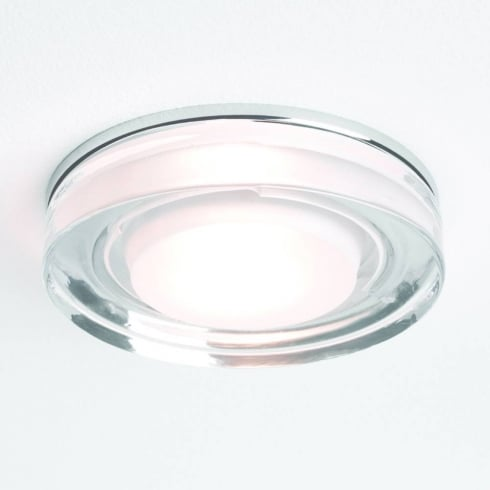Astro Lighting Vancouver 5518 Glass Chrome Round GU10 Shower Downlight 230V IP65