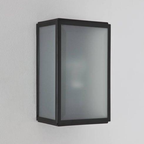 Astro Homefield Sensor Outdoor Surface Wall Light Matt Black