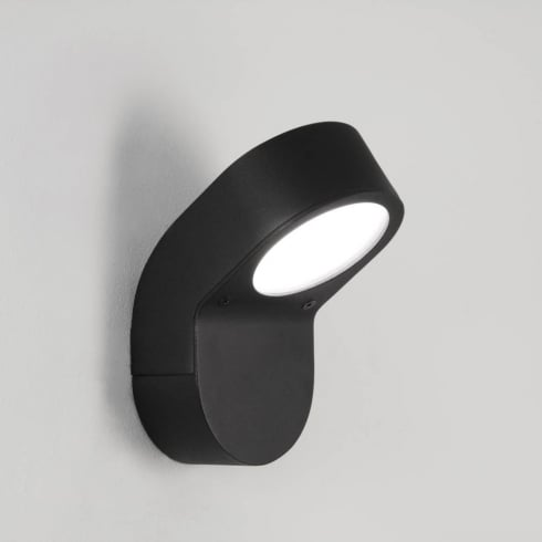 Astro Soprano Outdoor Surface Wall Light Textured Black