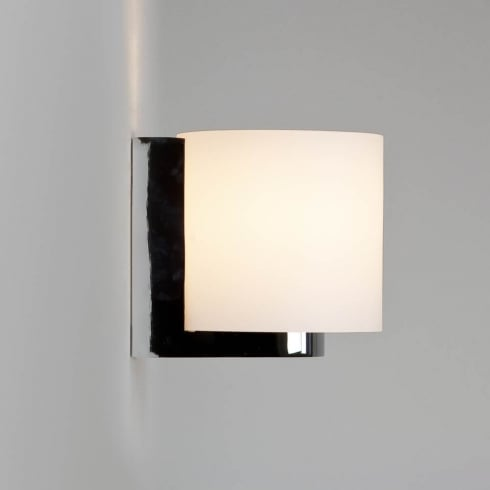 Astro Lighting Siena Round 0665 Unswitched Polished Chrome Finish Bathroom Surface Wall Light