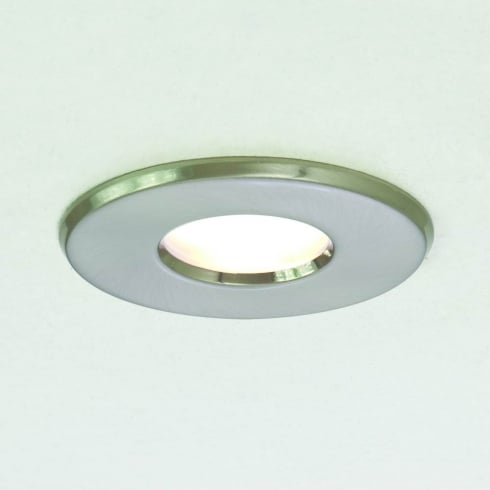 Astro Lighting Kamo 230v 5660 Brushed Nickel Finish Bathroom Downlight