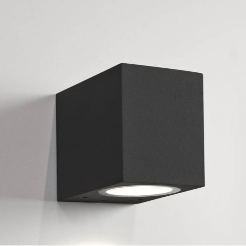 Astro Lighting Chios 80 7126 Unswitched Black Finish Exterior Surface Wall Light