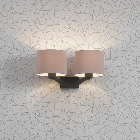 Astro Montclair Twin Surface Wall Light Bronze