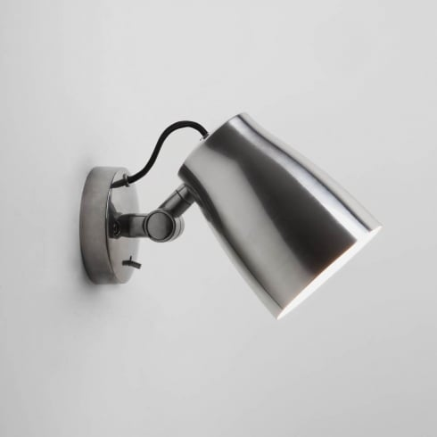 Astro Lighting Atelier Wall 7500 Switched Polished Aluminium Finish Surface Wall Light
