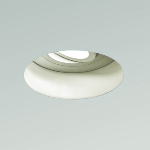 Astro Trimless Adjustable Round Recessed Downlight White
