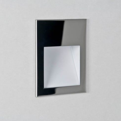 Astro Borgo 90 LED Recessed Wall Light Polished Stainless Steel