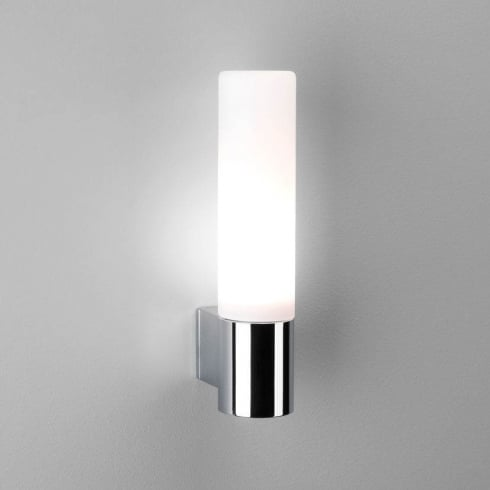 Astro Lighting Bari 0340 Unswitched Polished Chrome Surface Bathroom Wall Light