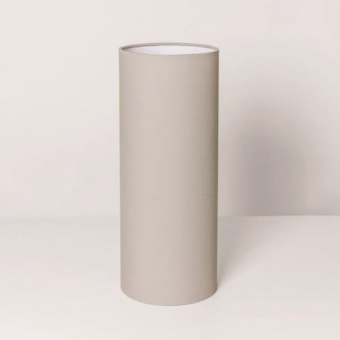 Astro Lighting Tube 135 4180 Putty Colour Fabric Finish Shade