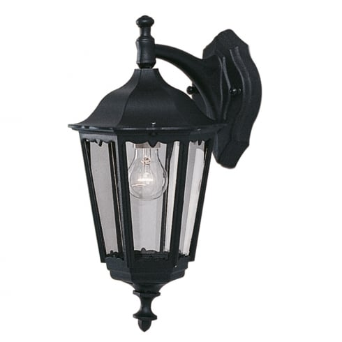 Searchlight Electric Bel Aire 82531BK Outdoor Surface Wall Light