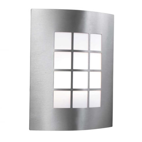 Searchlight Electric 3140SS Stainless Steel Outdoor Surface Wall Light