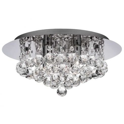 Searchlight Electric Hanna 3404-4CC Semi-Flush Ceiling Light