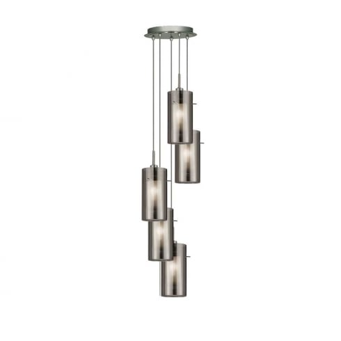 Searchlight Electric 2305-5SM DUO 2 Pendant