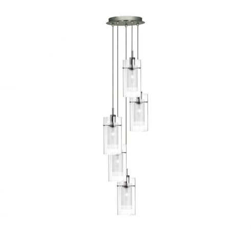 Searchlight Electric 2305-5 DUO 1 Pendant