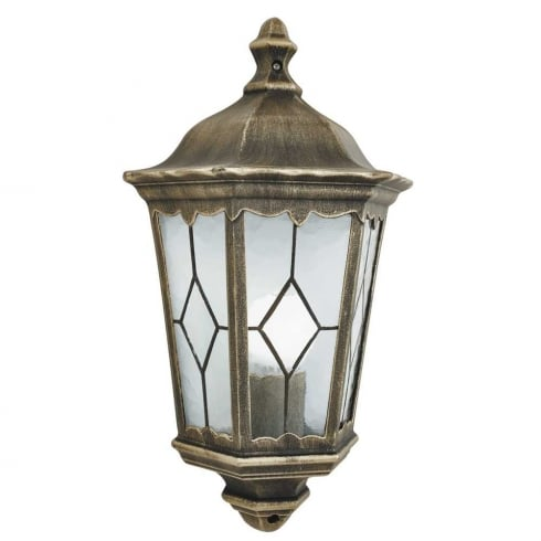Searchlight Electric Imperial 93606BG Outdoor Half Wall Light