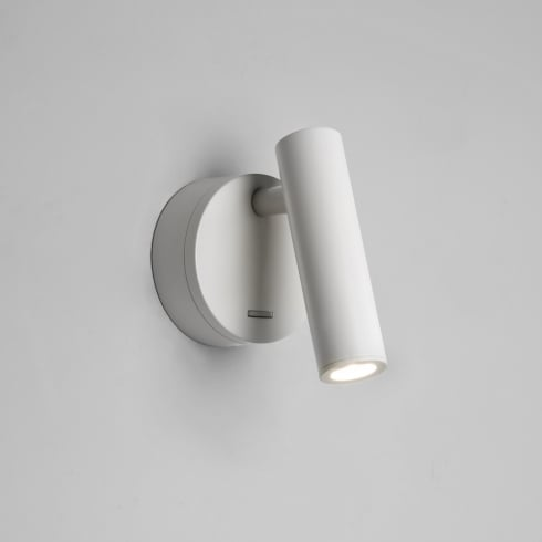 Astro Enna Switched Surface LED Wall Light Textured White