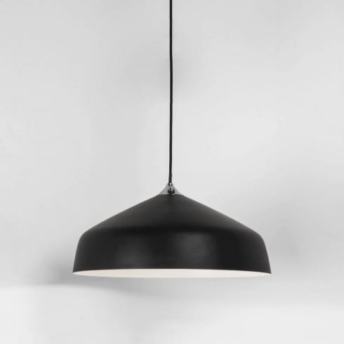 Astro Ginestra 400 Wide Pendant Ceiling Light Black