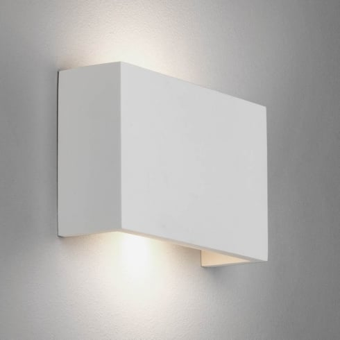 Astro Rio 210 LED Surface Up/Down Wall Light Plaster
