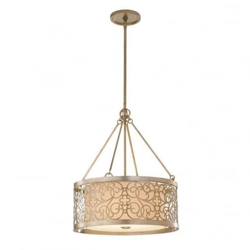 Elstead Arabesque 4Lt FE/ARABESQUE4 Pendant Ceiling Light