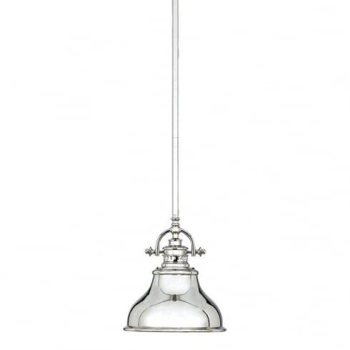 Elstead Emery 1 Lt Mini Pendant Imperial Silver QZ/EMERY/P/S IS