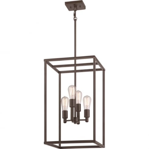 Elstead Lighting New Harbor 4Lt Pendant QZ/NEWHARBOR/4P