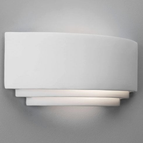 Astro Amalfi 315 Ceramic Surface Wall Light White